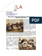 AIA|LA Wraps up successful Semester with Para Los Niños