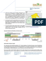 Burkina Faso - Food Security Outlook