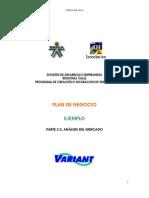 2.2 - Analisis Del Mercado - Ejemplo
