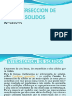 Interseccion de Solidos
