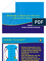 Methods & Materials Section