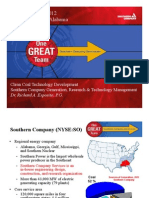 Southern Company's CCUS Portfolio and Key R&D Issues