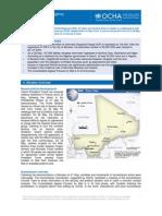 OCHA Mali Status Report