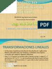 UNIDAD 5 Transformaciones Lineales