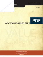 Acc Value Based Fee Primer