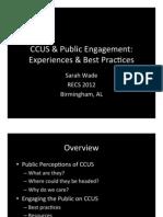 CCUS and Public Engagement