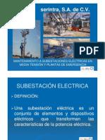 MantenimientoaSubestacionesEléctricas