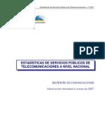 MTC - Telecomunicaciones a Marzo 2007