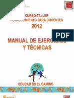 Manual de Ejercicios y Técnicas F