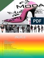 Diapositiva de Moda