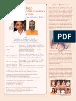Kriya Yoga Programa Dic 2011