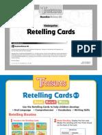 Treasures Retelling Cards Gk