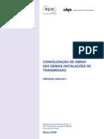 Consolidacao de Obras Das Demais Instalacoes de Transmissao 2009-2011