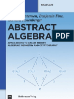Abstract.algebra 2011 Rosenberger Fine Carstensen
