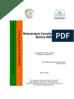 Aprobacion de La Constitucion Boliviana de 2009
