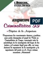 Criminalística II