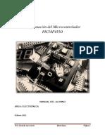Programación del Microcontrolador PIC18F455O