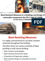 Blast Resisting Measures and Design of Vulnerable Components by UFC-3-340-02 (2008)