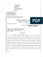 Marty Atencio case   MCSO Motion to Dismiss
