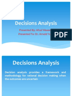 Decission Analysis Presentation