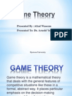 Game Theory - Chapter No 14 - Presentation