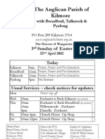 Pew Sheet 22 Apr 2012