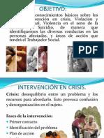 Intervencion en Crisis Al Suicidio