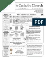 Bulletin - 6-10-2012