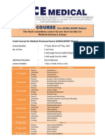 Planner Crash Course Medical