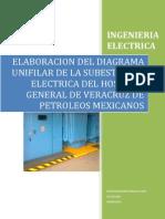Elaboracion Del Diagrama de La Subestacion Electrica y Planta de Emergencia (Trabajo de Investigacion)
