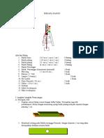 Pembuatan Menara Alarm Banjir