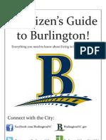 A Citizen's Guide to Burlington!