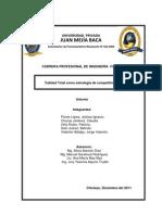 Monografia (La Calidad Total)