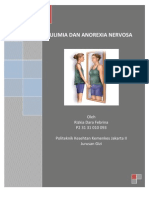 Anoreksia & Buliimia Nervosa