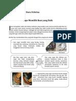 Tips Memilih Ikan Yang Baik
