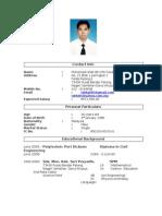 01 - Muhamad Ishak_resume(Rev1)