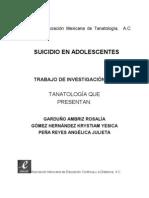 27 Suicidio en Adolescentes