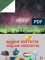Bahan Sintetik Dlm Industri