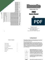 Romic Twin Tube Manual