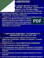 Arbitration ppt MBA