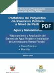 Agua Potable y Alcantarillado de Pueblo Libre