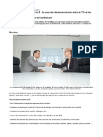 Commercial Agences B to B - La Courroie de Transmission Entre Le to Et Les Agences