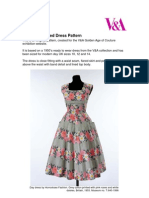 Couture Dress Pattern Instructions