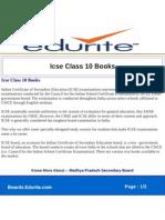 Icse Class 10 Books