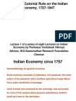Colonial Rule and the Indian Economy