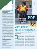 Vom Leben eines Erstligisten - Jan Weber erzählt über Elektro-Rollstuhlhockey