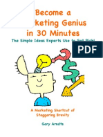 Become a Marketing Genius in 30 Minutes!