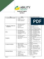 AbilityMedical English