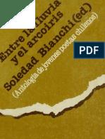 Entre la lluvia y el arcoiris,, Antologia de jovenes poetas chilenos.
