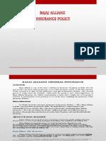 Bajaj Allianz General Insurance(Brm Term Paper.)